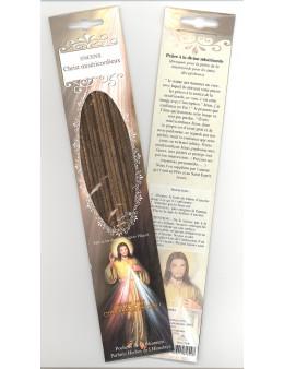 Encens baguettes Christ Miséricordieux