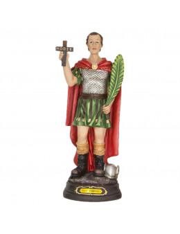 Statue résine peinte à la main St Expédit 30 cm