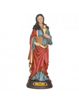 Statue résine peinte à la main Marie Madeleine 30 cm
