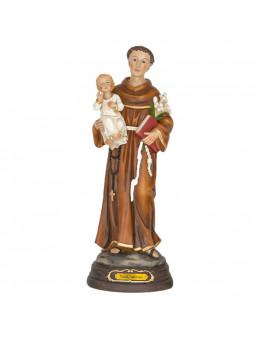 Statue résine peinte à la main St Antoine 30 cm