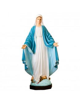 Statue Vierge Miraculeuse - résine peinte 40 cm