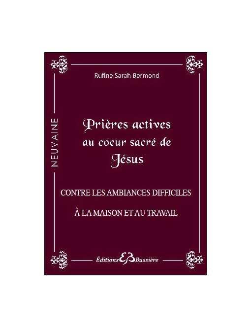 Prières actives au Coeur Sacré de Jésus