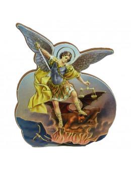 Magnet bois 2D Saint Michel