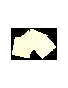 Parchemin végétal 200 gr lot de 10 - 8 x 8 cm