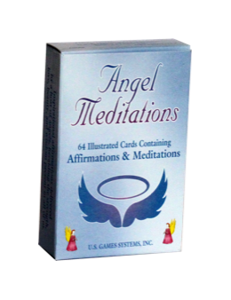 Méditation angel cards (anglais)