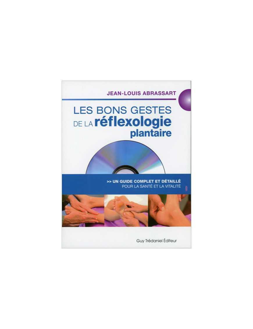 Bons gestes de la réflexologie plantaire livre + dvd
