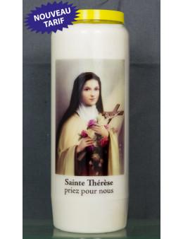 Bougie de neuvaine Ste Thérèse + prière