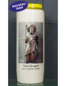 Bougie de neuvaine St Jacques