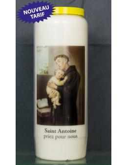 Bougie de neuvaine St Antoine + prière