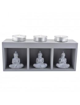 porte-bougies buddha