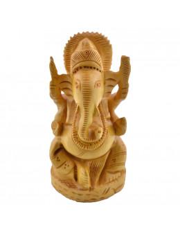Statue Ganesh bois