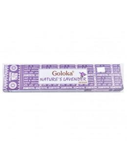 Encens Goloka Lavande - Nature's Lavender - 15g