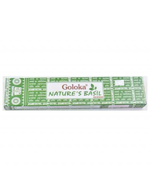 Encens Goloka Basilic - Nature's Basil - 15g