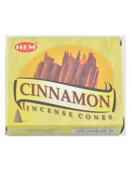 Encens Hem Cones Cannelle - Cinnamon