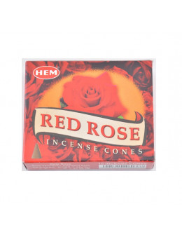 Encens Hem Cones Rose Rouge - Red Rose