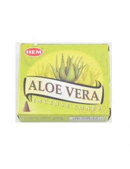 Encens Hem Cones Aloe Vera
