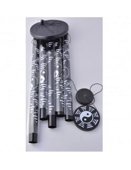 Carillon métallique Ying Yang 85 cm