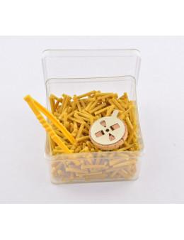 Mèches de cire d'abeille - Boite de 50g