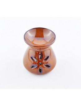 Brûle-encens en céramique émaillée