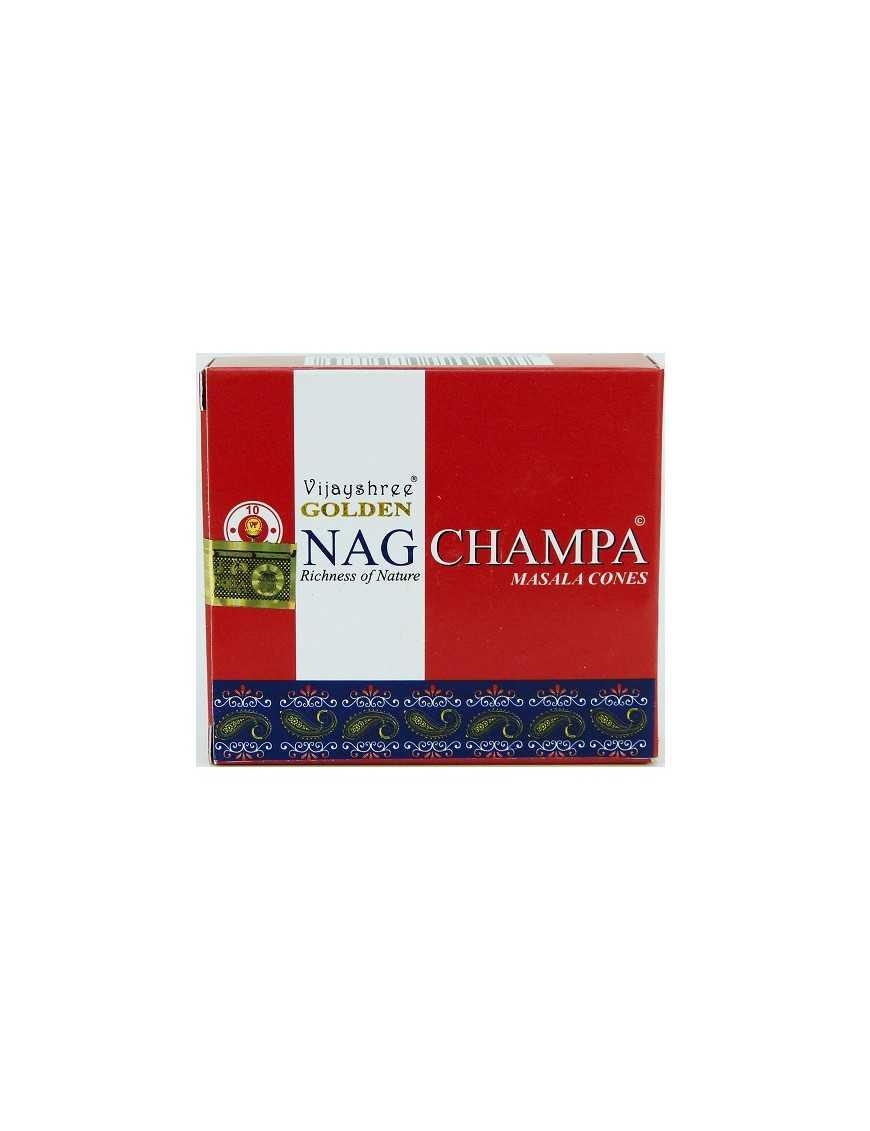 Encens Vijayshree Golden Nag Champa 10 cones