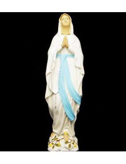 Statue Notre Dame de Lourdes 30 cm Fluo