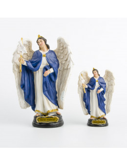 Statue résine peinte à la main Saint Gabriel