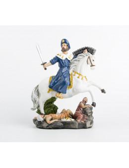 Statue résine peinte à la main Saint Jacques le Majeur
