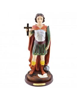 Statue Saint Expédit en résine 30 cm