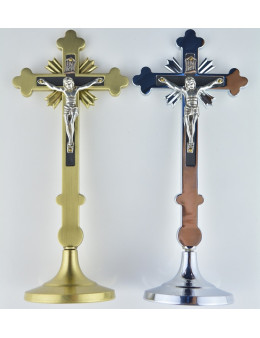 Crucifix métal 18 cm