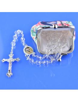 Chapelet Sainte Rita avec pochette