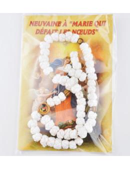 Chapelet corde Marie qui défait les noeuds