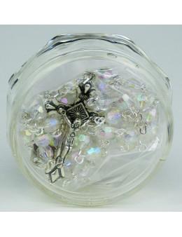 Chapeler chaînette perles cristal et boite Marie qui défait les noeuds