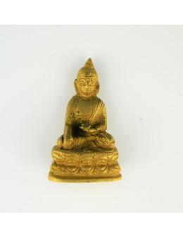 Statuette Bouddha en laiton 4 cm