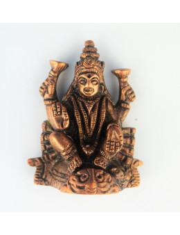 Statuette cuivre rouge divinités hindou 6 cm