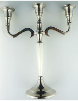 Chandelier en métal 3 branches 27 cm