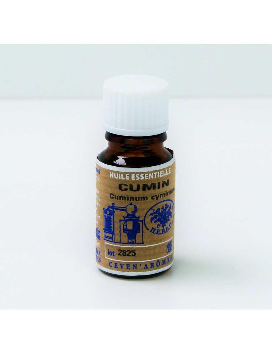 Huile essentielle de Cumin 10 ml avec Compte-gouttes