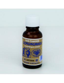 Huile essentielle de Lemongrass 20 ml avec Compte-gouttes