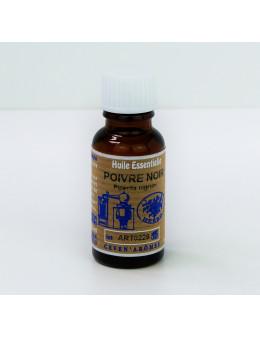 Huile essentielle de Poivre noir 20 ml avec Compte-gouttes