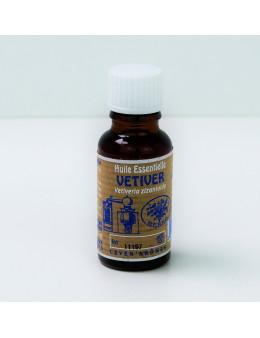 Huile essentielle de Vétiver 20 ml avec Compte-gouttes