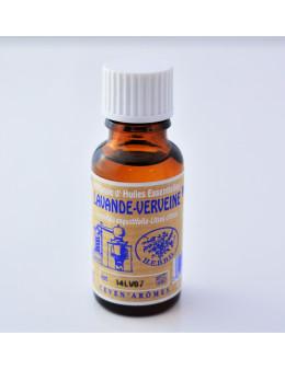 Huile essentielle de Lavande-Verveine 20 ml avec Compte-gouttes