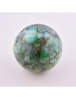 Sphère émeraude 45 mm