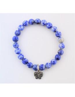 Bracelet Art de la chance Sodalite bleue