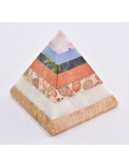 Pyramide multipierres