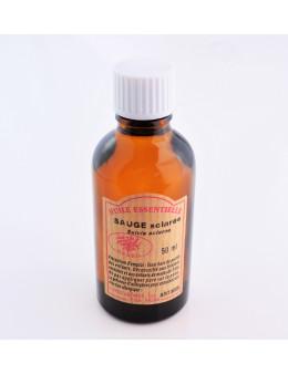 Huile essentielle Sauge 50 ml avec Compte-gouttes