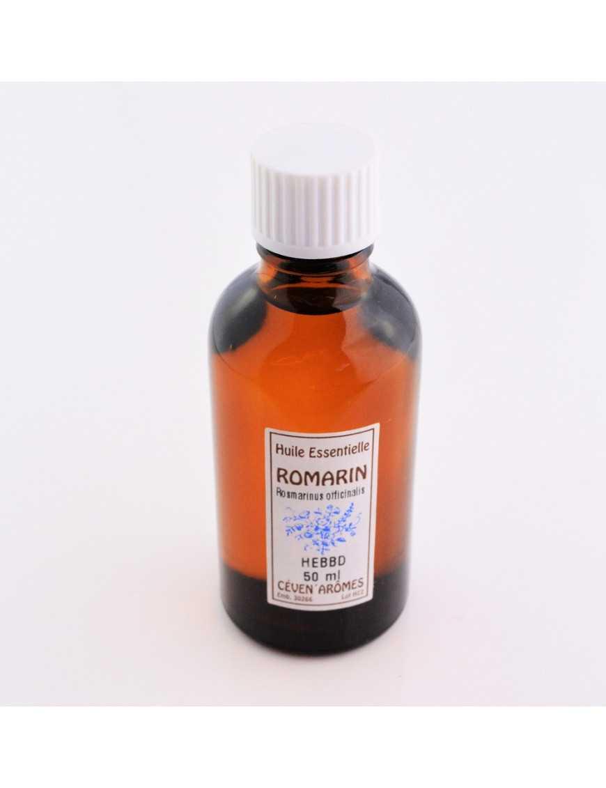 Huile essentielle Romarin 50 ml avec Compte-gouttes