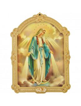 Images saintes sur bois - 15x10
