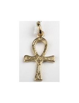 Croix Egyptienne plaque or