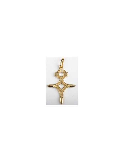 Croix du Sud ou croix d'agadez plaqué or