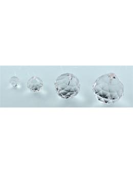 Boule à facettes en verre ou éclateur d'énergie