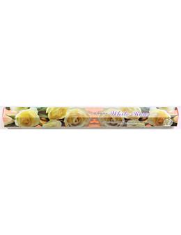 Encens Darshan Hexa Rose blanche